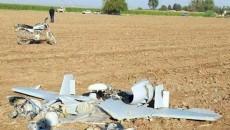 What is said to be an Israeli-made Harop drone operated by Azeri forces crashed in Iran.