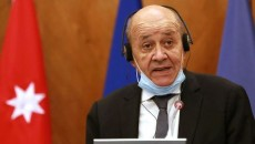 France's Foreign Minister Jean-Yves Le Drian