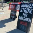 AYF members go on hunger strike to demand justice for Artsakh
