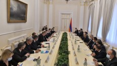 Russian-Armenian intergovernmental meeting takes place in Yerevan on Nov. 21