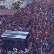 150,000 Armenians in Los Angeles came together in support of Artsakh on Oct. 11 (LAPD Photo)
