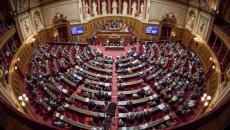 French Senate Chamber