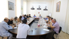 Leaders of political parties gather to discuss next steps