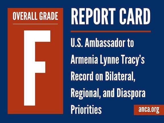 "Ambassador Lynne Tracy's record warrants an ""F"" grade"