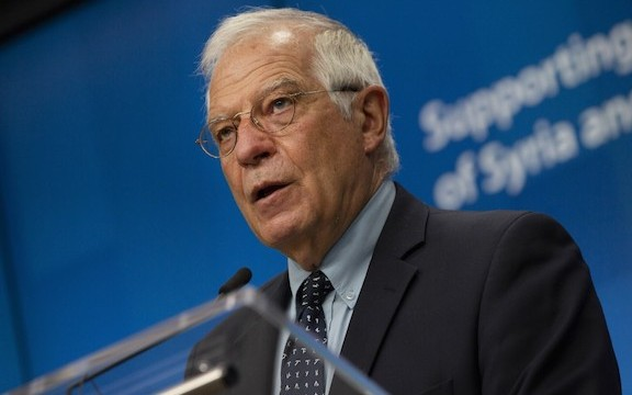 EU's High Representative for Foreign Affairs Josep Borrell