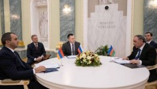 Prosecutors General of Armenia, Azerbaijan and Russia meet on Jan. 12