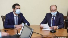 Foreign Minister Ara Aivazyan briefs the Parliamentary Standing Committee on Foreign Relations