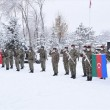 Soldiers of the Turkish and Azerbaijani armed forces already gathered in Kars on Jan. 17