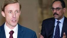 President Biden's National Security Advisor Jake Sullivan (left) and Turkish presidential advisor Ibrahim Kalin