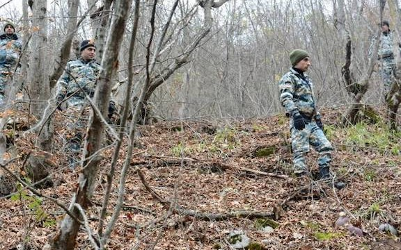 Artsakh search and rescue operators