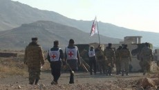 ICRC officials in Azerbaijan