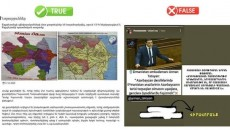 """A screen grab from an Azerbaijani media site shows Tatoyan's statements as being """"false"""""""