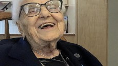 Lucy Mirigian at age 112
