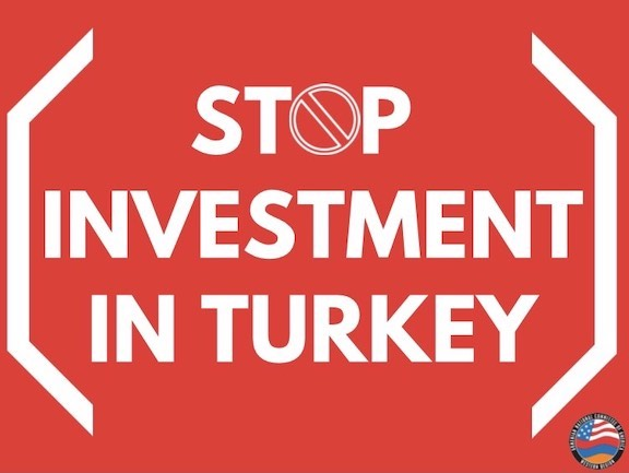 """ANCA-WR welcomed 2 """"stop investment in Turkey"""" initiatives by the California legislature"""