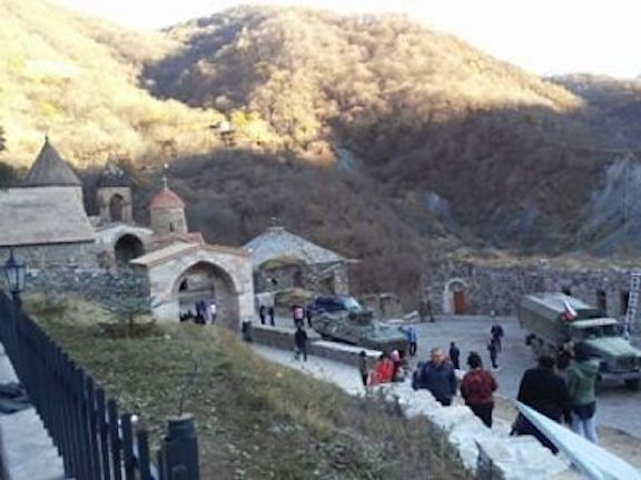 Armenians were barred from making a pilgrimage to Dadivank