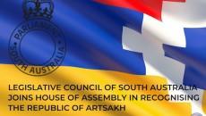 South Australia's Legislative Council recognizes Artsakh