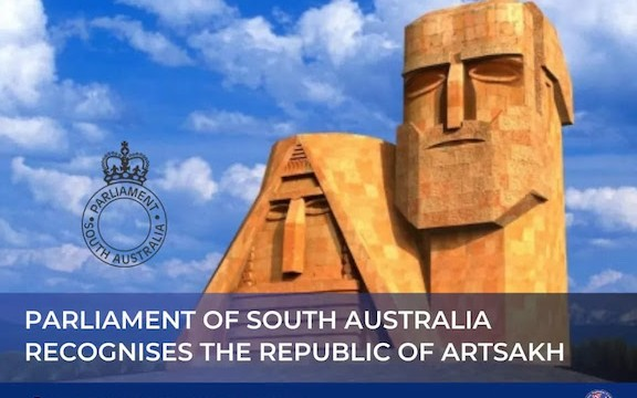 South Australia recognizes Artsakh