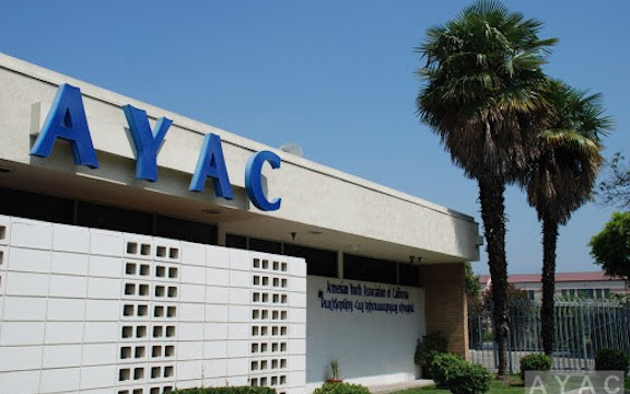 The AYAC Center in Glendale before construction began on a second floor
