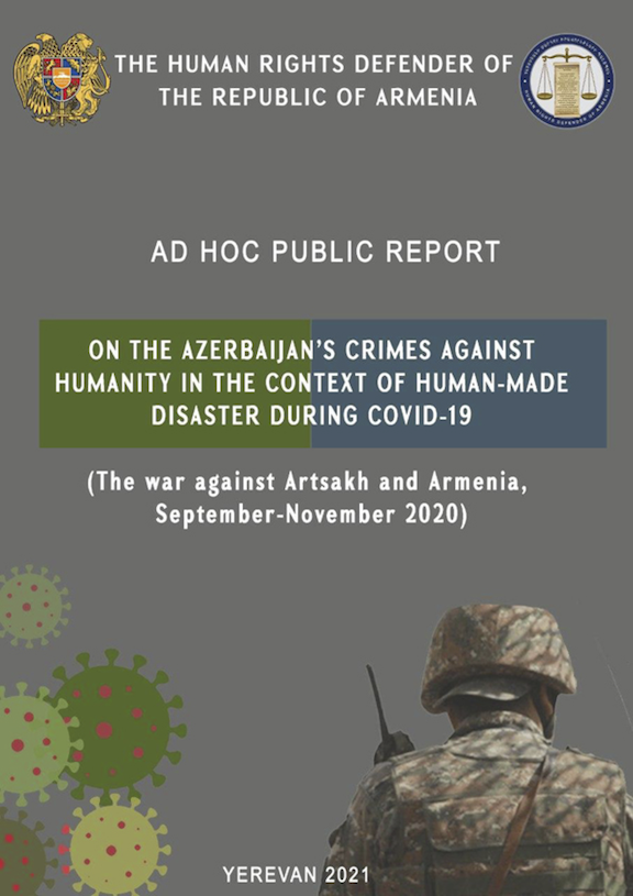 A new report says Azerbaijan committed crimes against humanity