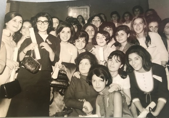 Graduation from Mariamian High School