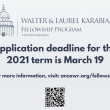 Deadline for Karabian Fellowship applications is March 19