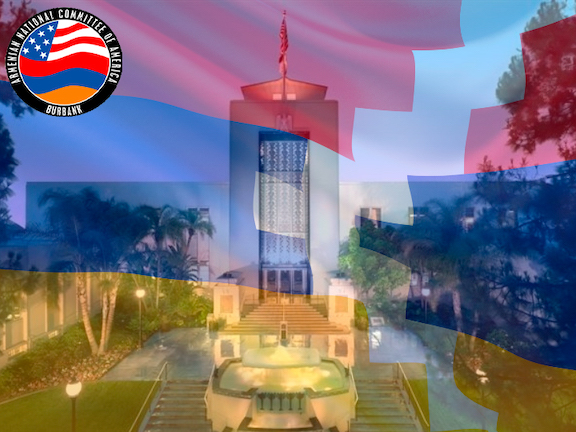 ANCA Burbank welcomed city council vote to recognize Artsakh