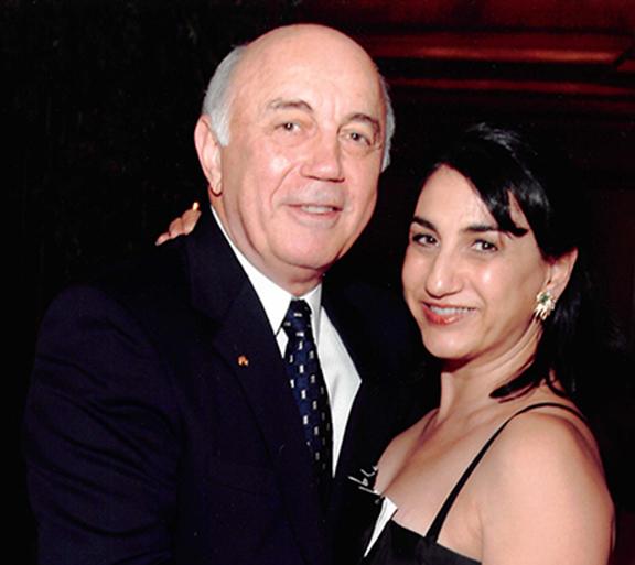Walter and the late Laurel Karabian