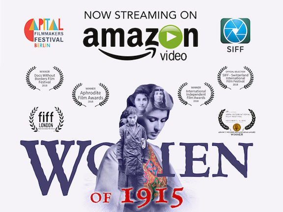 """""""Women on 1915"""" will begin streaming on Amazon on March 8"""