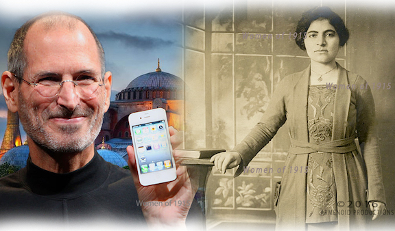 """Victoria Artinian, Steve Job's adoptive grandmother is featured in """"Women on 1915"""""""