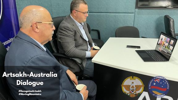 Dialogue with Artsakh Foreign Minister organized by ANC of Australia