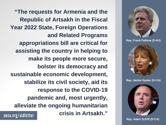 Congressional leaders call for $100 million in aid for Armenia, Artsakh