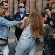 VIEW GALLERY: Yerevan police attack women protesters on Mothers' Day