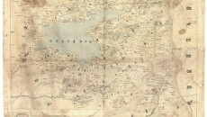 Armenian Map of Van/ Վան Քարտեզ