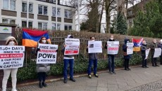 VIEW GALLERY: Activists in Berlin call on Baku to release Armenian POWs