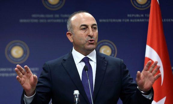 Turkey's Foreign Minister Mevlut Cavusolglu