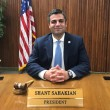 Glendale Unified School Board of Education chair Shant Sahakian