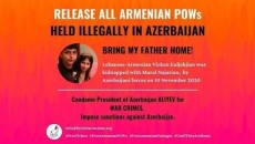 A change.org petition calls for the immediate release of Armenian POWs