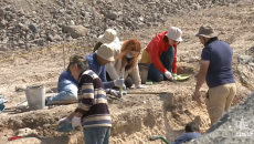 Archeologists excavate site in Yerevan where Urartu-era artifacts were discovered