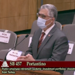 California State Senator Anthony Portantino discussing Senate Bill 457 on April 19