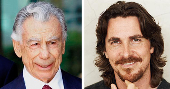Chirstian Bale (right) is set to star in the Genocide-themed film, the first in Kirk Kerkorian's Trancinda-led production company