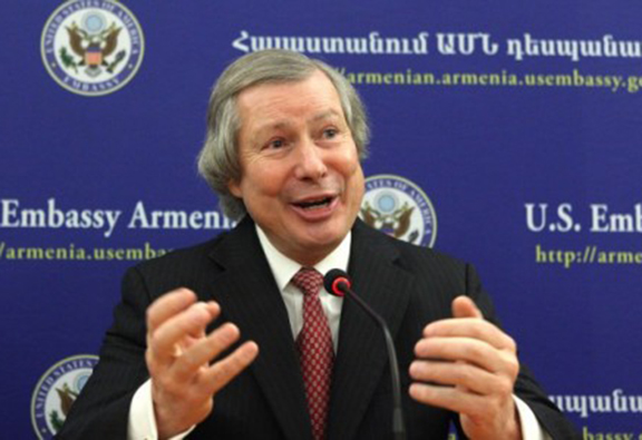 OSCE Minsk Group U.S. Co-Chair James Warlick in Yerevan (Photo: United States Department of State)