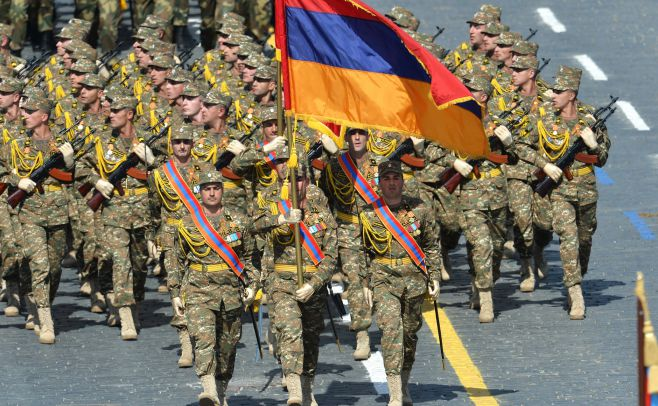 Armenian Armed Forces parade