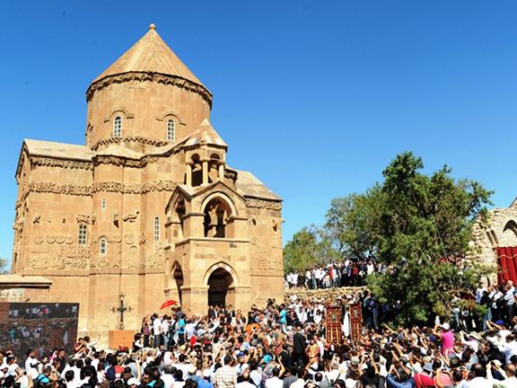 Akhtamar Church in Van, Turkey. (Source: Public Radio of Armenia)