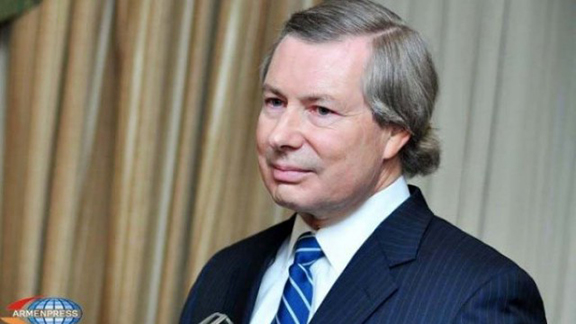 Ambassador James Warlick (Source: Armenpress)