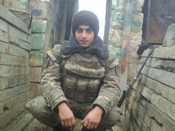 19- year-old Karabakh Soldier Aramayis Voskanyan (NEWS.am)