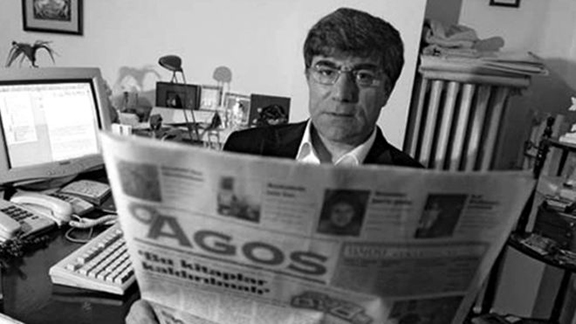 The late Turkish-Armenian journalist Hrant Dink