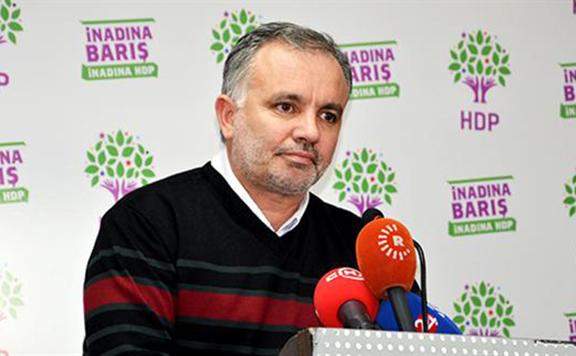 HDP Party Spokesperson Ayhan Bilgen. (Source: Hurriyet Daily News)