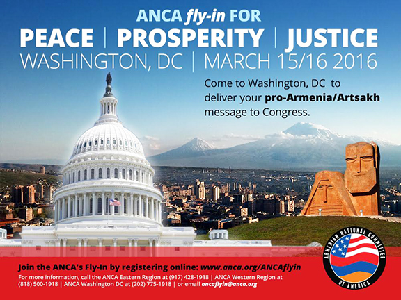 ANCA Fly-In for Peace | Prosperity | Justice