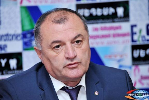 Armenia's Republican Party Secretary Gagik Melikyan. (Source: Armenpress)