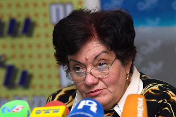Armenia's Public Council member Karine Danielyan. (Source: Photolure)
